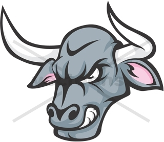 angry bull head logo - photo #16
