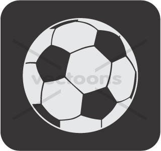 Creative Soccer Ball Icon Or Football Icon Others Buy Clip Art