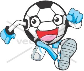24+ Cartoon Soccer Player Running JPG